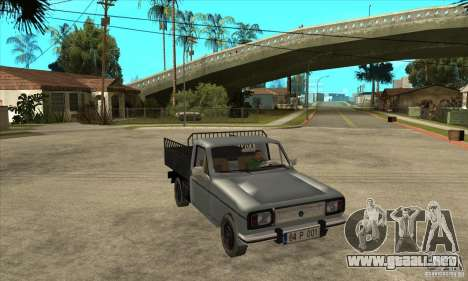 Anadol Pick-Up para GTA San Andreas vista hacia atrás