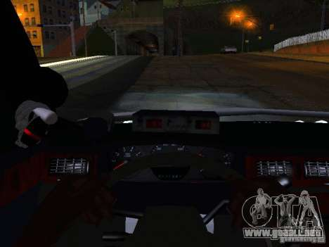 Chevrolet Impala NYPD para la vista superior GTA San Andreas