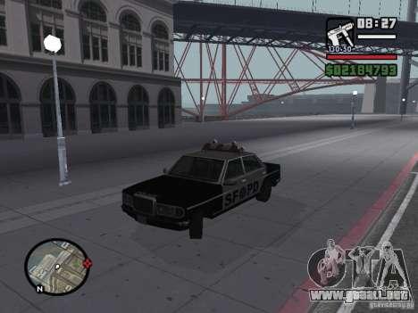 Admiral SFPD para GTA San Andreas