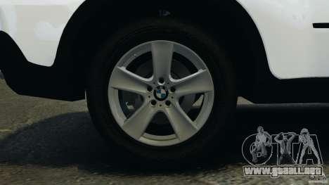 BMW X5 xDrive48i Security Plus para GTA 4 vista superior