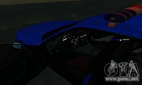 BMW M5 POLICE para la vista superior GTA San Andreas