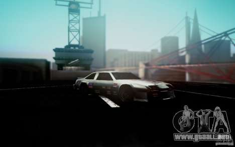 San Andreas Graphics Enhancement para GTA San Andreas tercera pantalla