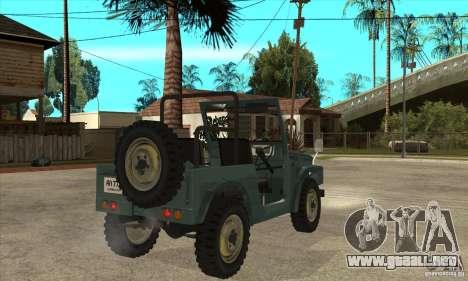 Suzuki Jimny para la visión correcta GTA San Andreas