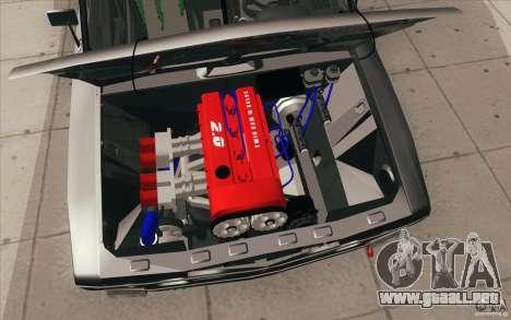 2106 VAZ Lada deriva sintonizado para GTA San Andreas interior