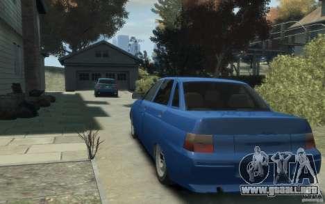 Lada VAZ 2110 para GTA 4 Vista posterior izquierda