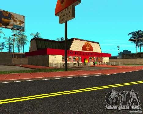 Comprar pizza para GTA San Andreas segunda pantalla