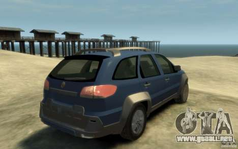 Fiat Palio Adventure Locker para GTA 4 visión correcta