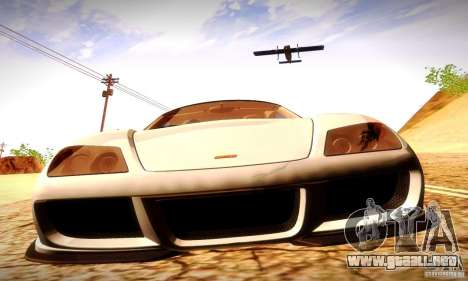 Noble M600 Final para visión interna GTA San Andreas