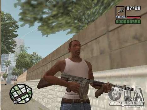 Mafia II Full Weapons Pack para GTA San Andreas séptima pantalla