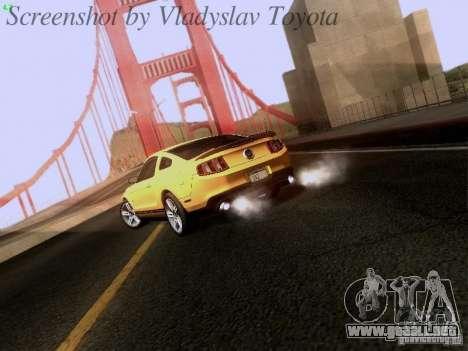 Ford Mustang GT 2011 para la visión correcta GTA San Andreas