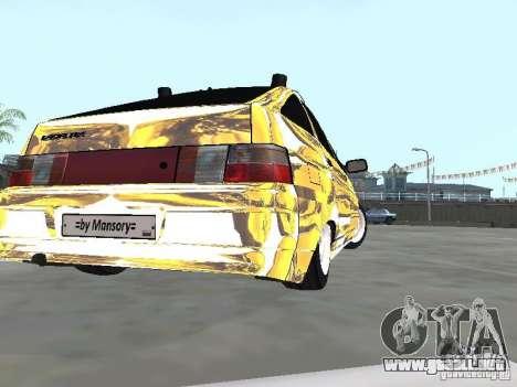 VAZ-2112 para GTA San Andreas left