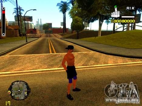 Gente de playa para GTA San Andreas sucesivamente de pantalla