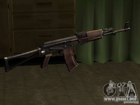 AK-47 para GTA San Andreas segunda pantalla