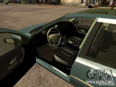 Renault Laguna II para GTA San Andreas vista posterior izquierda