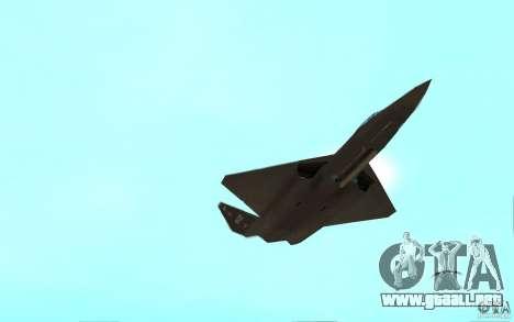 YF-23 para la visión correcta GTA San Andreas