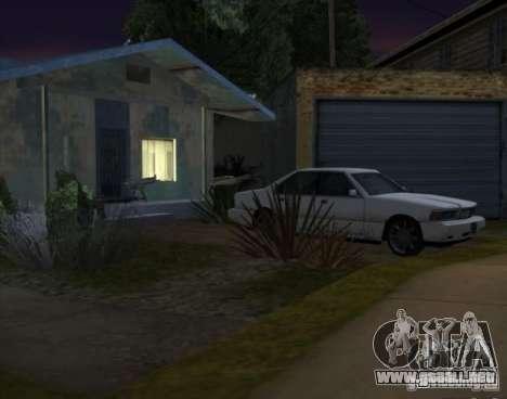 Armas y coches por todo el mapa para GTA San Andreas