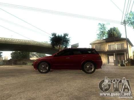 Serrano Stock para GTA San Andreas left