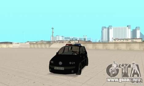 Volkswagen Touran 2006 Police para GTA San Andreas