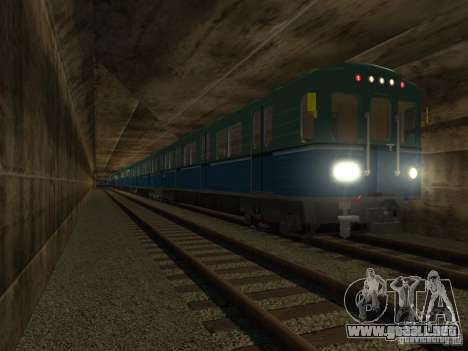Metro e para la visión correcta GTA San Andreas