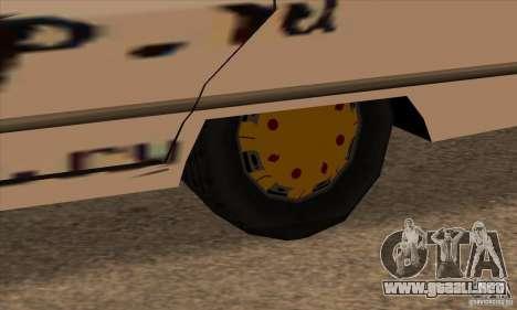 Pintura para Sabana para GTA San Andreas sucesivamente de pantalla