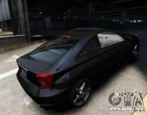 Toyota Celica para GTA 4 visión correcta