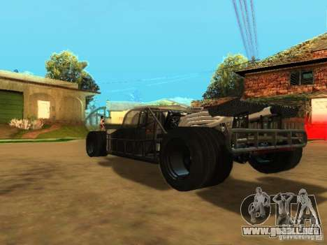 Fast & Furious 6 Flipper Car para vista inferior GTA San Andreas