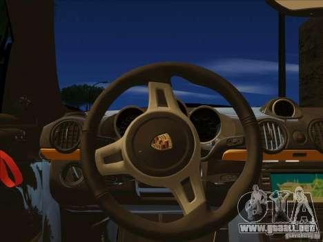 Porsche Cayman R 987 2011 V1.0 para la visión correcta GTA San Andreas