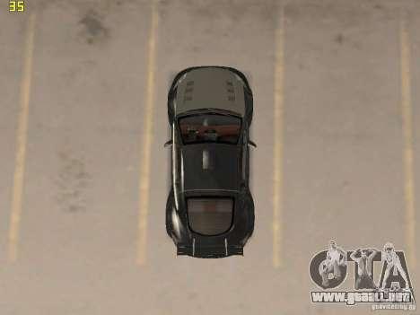 Mitsubishi Eclipse GT NFS-MW para GTA San Andreas vista hacia atrás