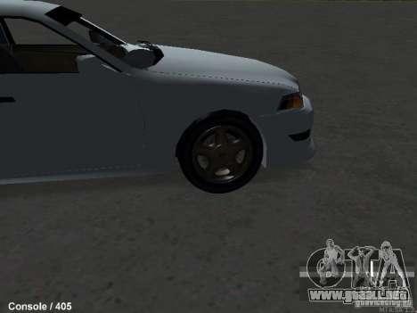 Toyota Mark II 100 1JZ-GTE para la visión correcta GTA San Andreas