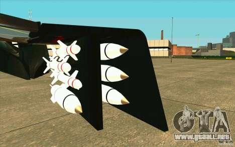 Aliens vs. Predator Marine Drobship para visión interna GTA San Andreas