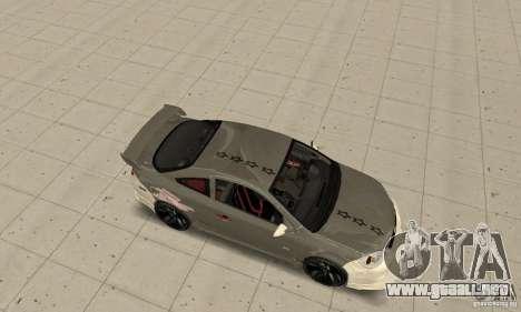Chevrolet Cobalt SS NFS ProStreet para GTA San Andreas vista hacia atrás