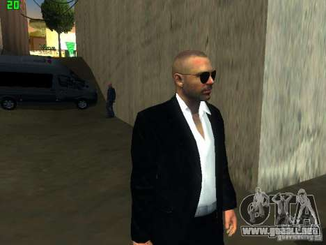 New FBI para GTA San Andreas