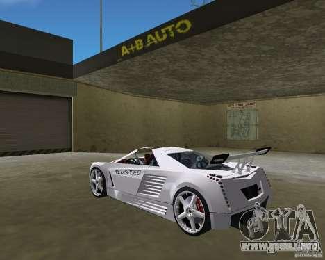 Cadillac Cien Shark Dream TUNING para GTA Vice City left