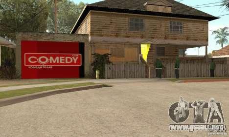 Comedy Club Mod para GTA San Andreas