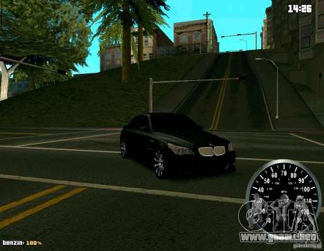 BMW M5 para la visión correcta GTA San Andreas