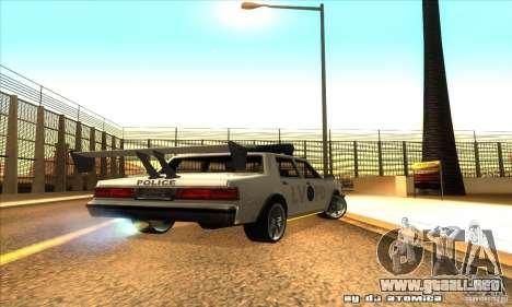 Police Hero v2.1 para la visión correcta GTA San Andreas