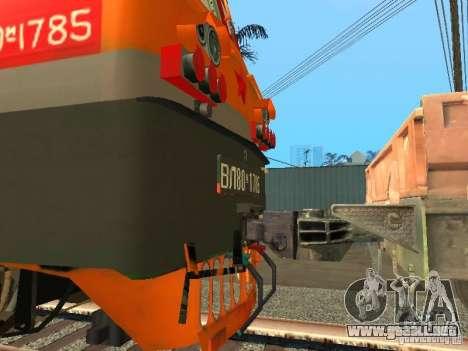 Vl80m-1785 ferrocarriles rusos para la visión correcta GTA San Andreas