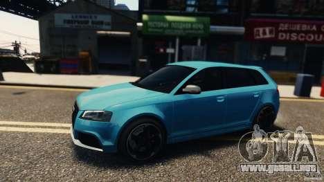 Audi RS3 Sportback V1.0 para GTA 4 left