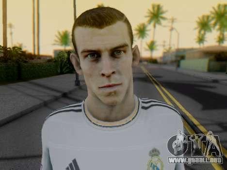 Gareth Bale para GTA San Andreas sucesivamente de pantalla