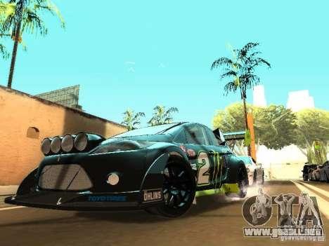 Ford Fiesta Rally Time para GTA San Andreas