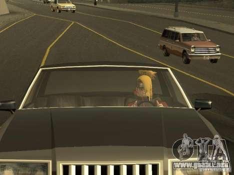 The Akatsuki gang para GTA San Andreas octavo de pantalla