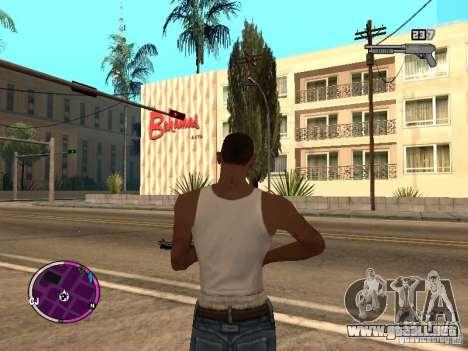 TBOGT HUD para GTA San Andreas tercera pantalla