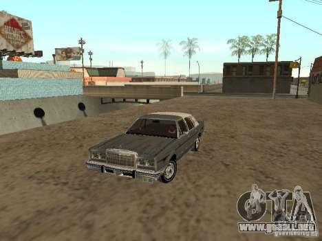 Lincoln Town Car 1986 para GTA San Andreas