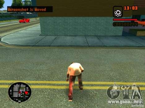 GTA IV Animation in San Andreas para GTA San Andreas undécima de pantalla