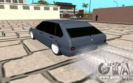 VAZ 2109 v. 2 para GTA San Andreas vista posterior izquierda
