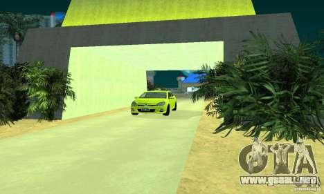 Opel Astra GTS para GTA San Andreas vista posterior izquierda
