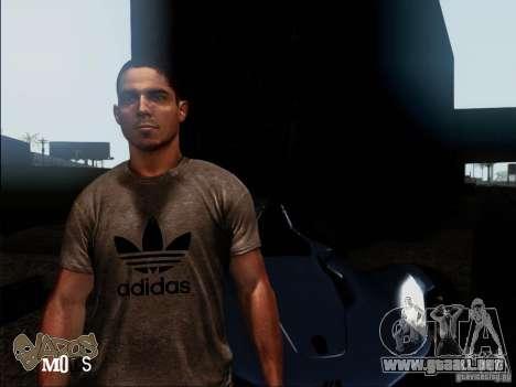 NFS The Run Skins para GTA San Andreas segunda pantalla