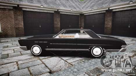 Ford Mercury Comet Caliente Sedan 1965 para GTA 4 vista interior