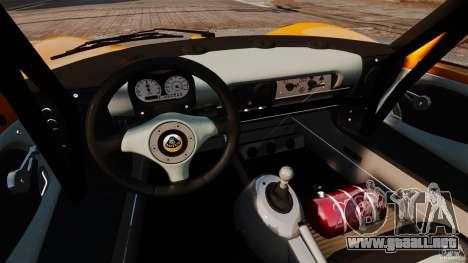 Lotus Exige 240 CUP 2006 para GTA 4 vista hacia atrás