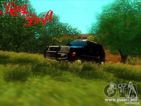 Toyota Land Cruiser v100 para vista lateral GTA San Andreas
